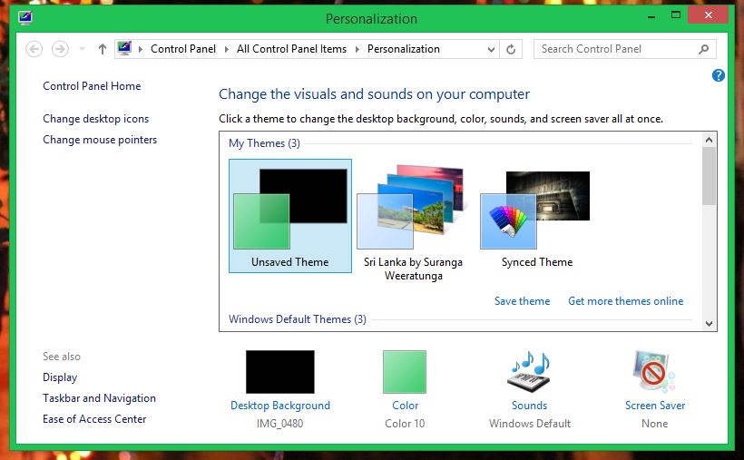 how to change your mouse pointer on windows 8