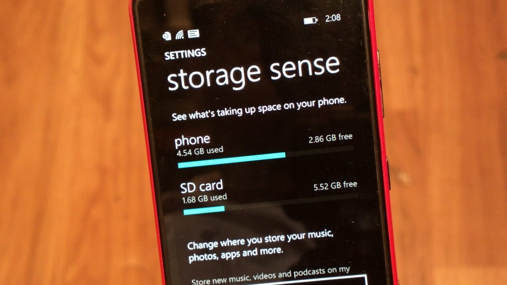 Move apps or games to an SD card in Windows Phone 8.1