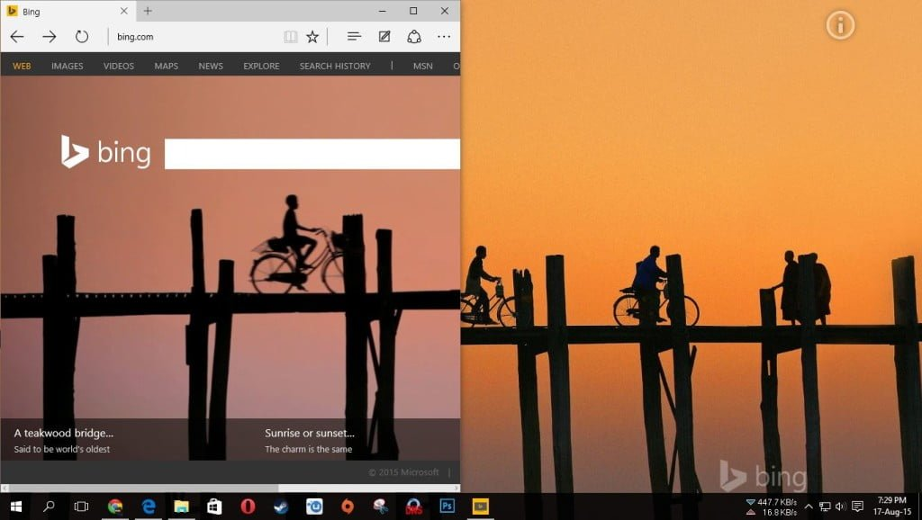 bing daily wallpaper download