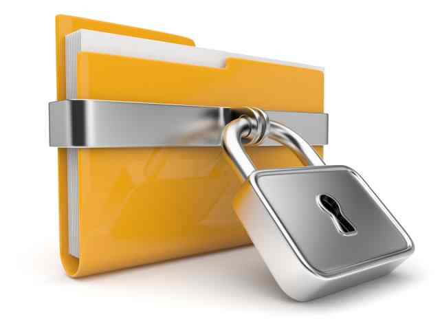 password protect folder