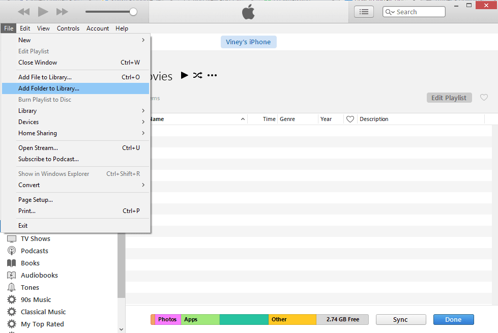 how to run itunes installer