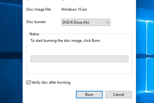 How to Burn ISO Files in Windows 10 - WindowsAble