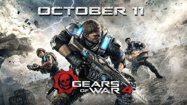 Gears of War 4 comes out on October 11