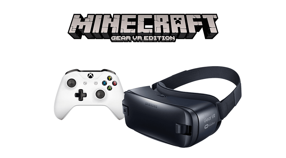 Xbox One controller with Samsung Gear VR
