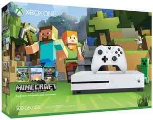The Xbox One S Minecraft Favorites Bundle