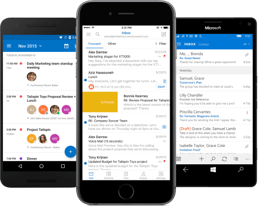 Outlook for Mobile