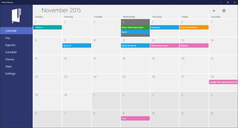 Calendar Planner Application : Top best calendar apps for windows windowsable
