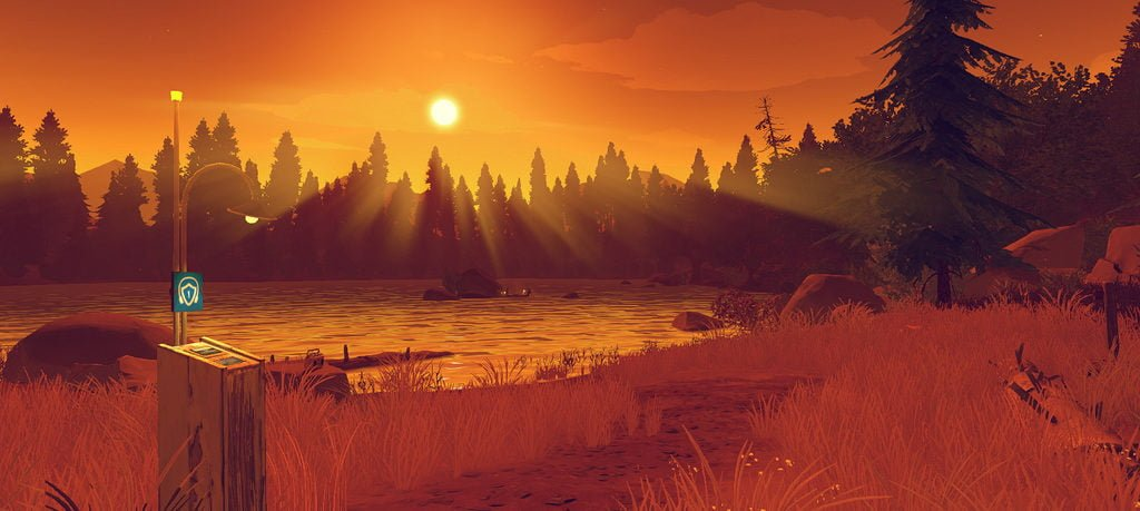 Firewatch on the Xbox One