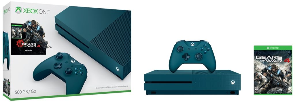 Xbox One S Special Edition Gears of War 4 500 GB Bundle