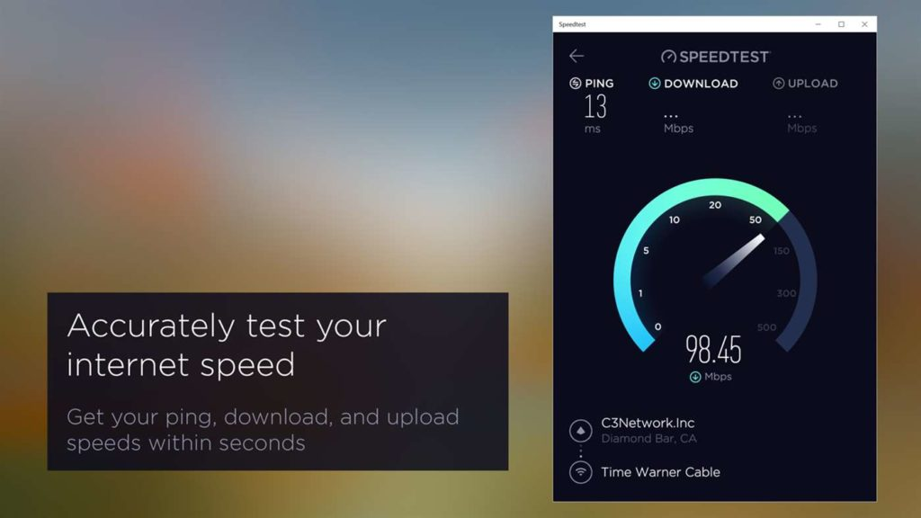 Speedtest by Ookla for Windows 10