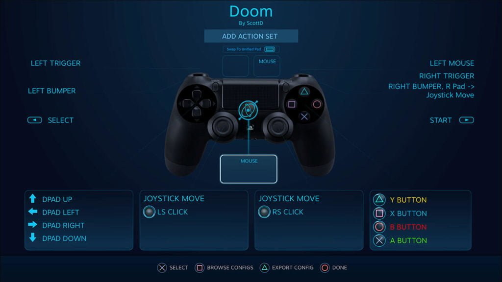 Steam support for PS4 Dual Shock controllers