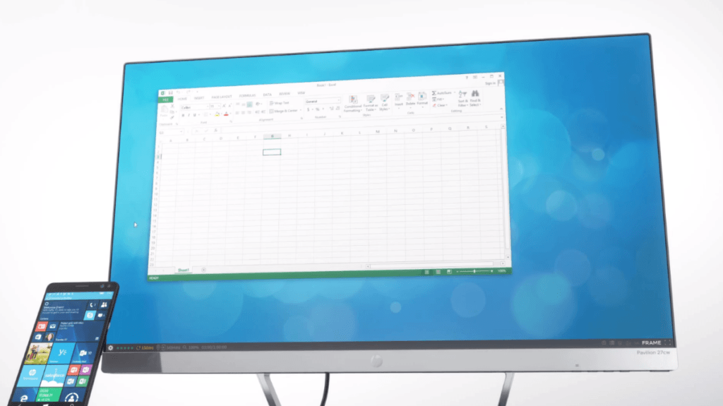 Office Excel on Continuum