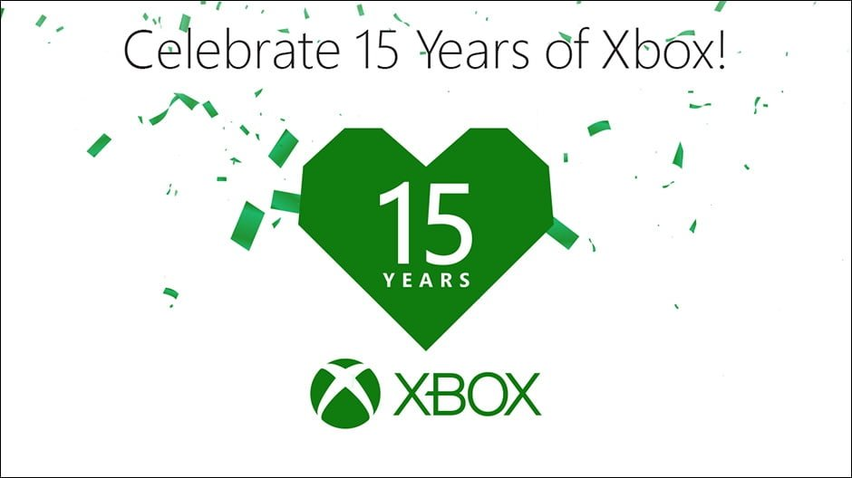 15 years of Xbox
