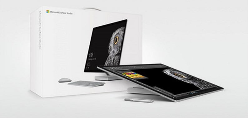 Surface Studio in a box
