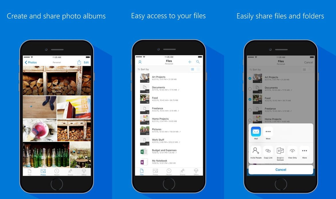 OneDrive for iOS receives major update: view Office documents and ...