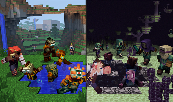 Villager Trading Now Available On Minecraft Pe And Windows 10