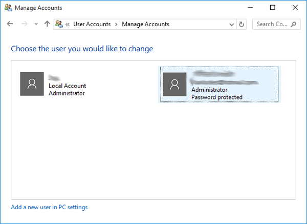 how to remove microsoft account from pc win 10