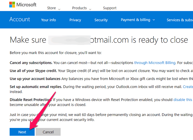 how to delete outlook email forever