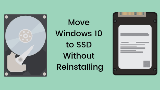 moving windows 10 to ssd without cloning